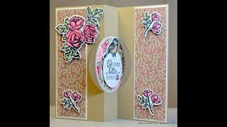 No. 462 - HOW TO.....Partial Die Cutting - JanB UK #7 Top Stampin' Up! Independent Demonstrator