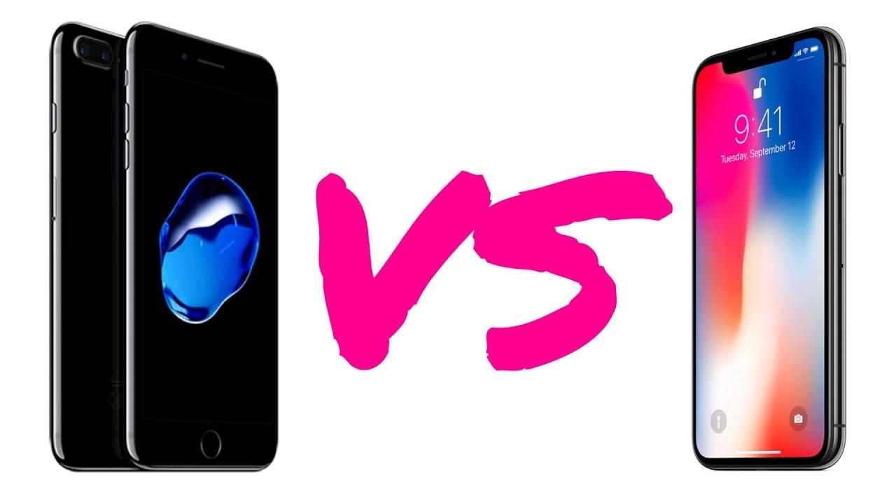 COMPARATIVA IPHONE X VS IPHONE 8 PLUS YOUTUBE