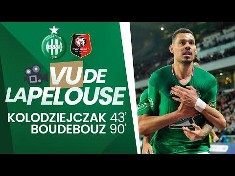 ASSE 2-1 Rennes : les buts vus de la pelouse