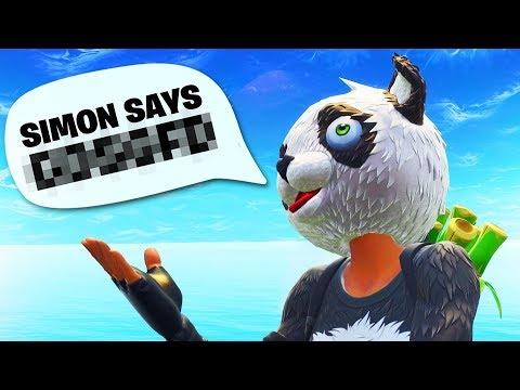 Simon Says In Fortnite