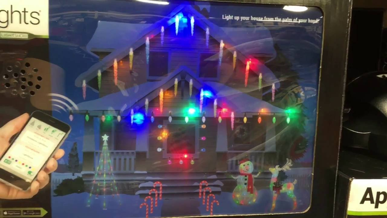 CHRISTMAS APP LIGHTS! - YouTube