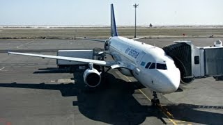 Air Astana Flight KC854 Astana to Almaty