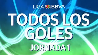 Todos los Goles | Jornada 1 - Clausura 2020 | Liga BBVA MX