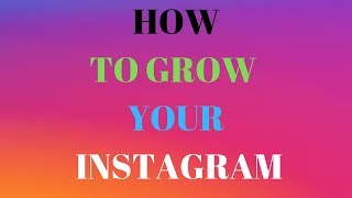 HOW TO GROW YOUR INSTAGRAM | Instagram Marketing | Super Affiliate System