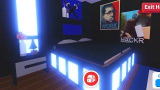 Adopt Me Gamer Boy Room Build Youtube