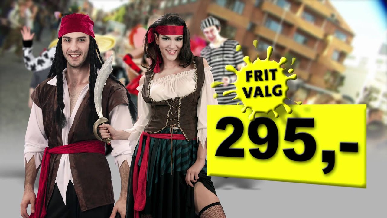 k b kostumer og udkl dning til aalborg karneval 2012 hos billig billy youtube. Black Bedroom Furniture Sets. Home Design Ideas