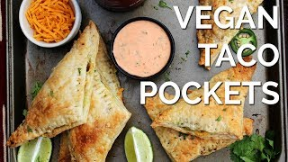 Vegan Taco Pockets | Two Market Girls