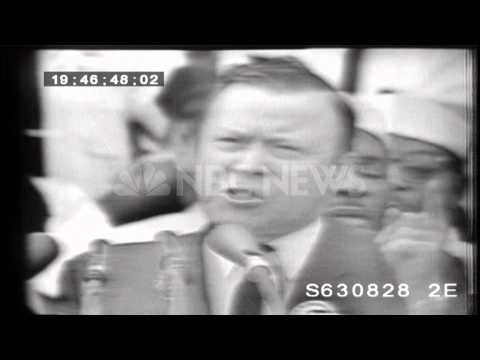 August 28, 1963: March on Washington - www.NBCUniversalArchives.com
