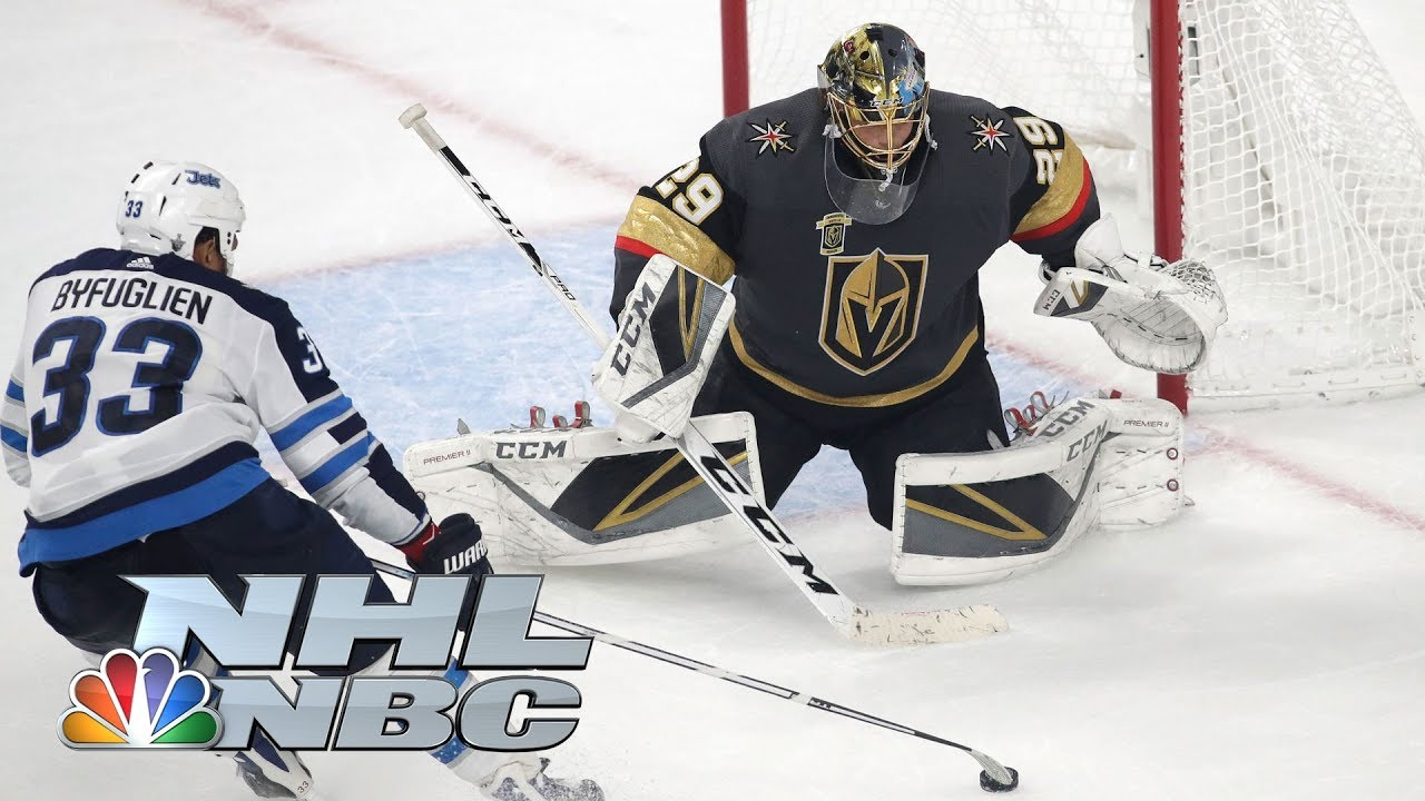 Fleury saves Vegas in Game 3 to take series lead over Jets I NHL I NBC Sports
