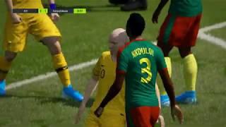 [피파4 월드컵] 16강 호주 2-1 카메룬