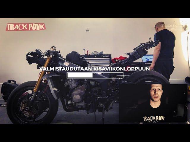 Moottoripyöräkilpailuun osallistuminen Suomessa