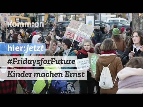 #FridaysforFuture  - Berlins Kinder machen Ernst/Demo 15.02.2019