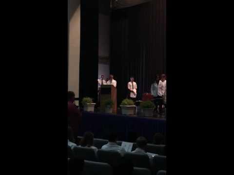 Greg's White Coat Ceremony
