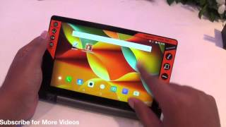 Lenovo Yoga Tab 3 8 Inch Hands on Review, Camera, Features