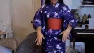 How To Put On A Yukata/Kimono