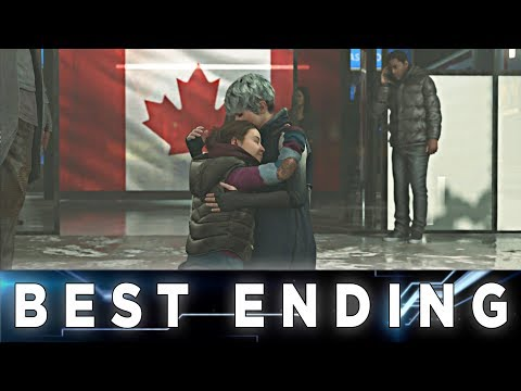 Detroit: Become Human - Kara Perfect Ending // Luther, Alice And Kara Free In Canada