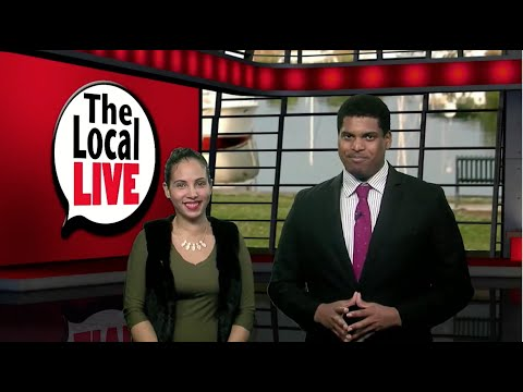 Anchors Alexandria Garcia & Rob Baez host Local News Stories in The Local Live