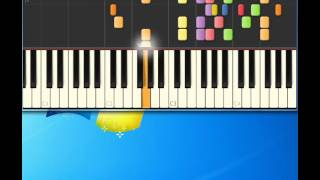 Bryan Hyland   Itsy Bitsy Teeny Weeny Yellow Polkadot Bikini [Piano tutorial by Synthesia]