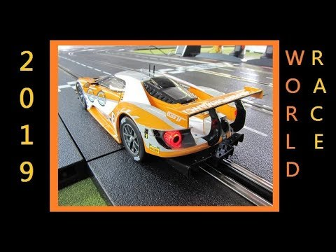 2019 World Race Germany Digital Slot Car League Race 7 Autobahnspine