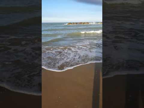 Montesilvano Beach (Pescara Italy) - April 16, 2017