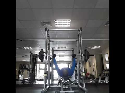 Chest press ..personal training