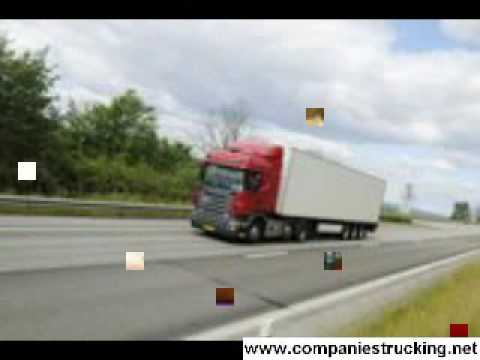 Freight Trucking Company, Moving Companies