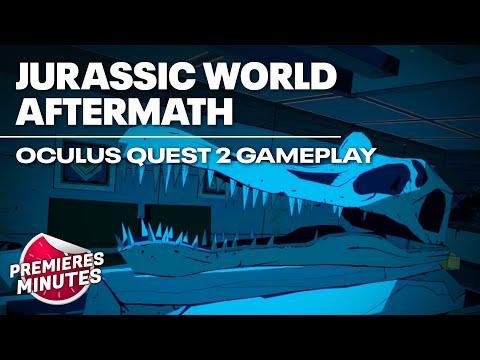 Jurassic World Aftermath - Gameplay Oculus Quest   Quest 2