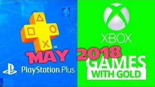 PS4 and XBOX ONE Free Games of May (2018)