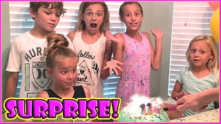 IT'S A SURPRISE PARTY!!! | We Are The Davises
