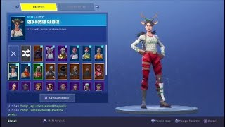 TRADING/SELLING OG FORTNITE ACCOUNT RED NOSE RAIDER,LOOKING FOR RENEGADE RAIDER (READ desc)