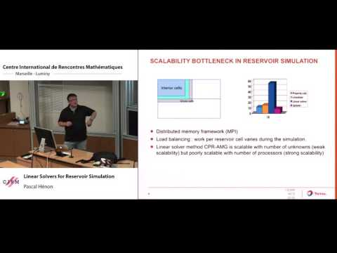 Pascal Hénon: Linear solvers for reservoir simulation
