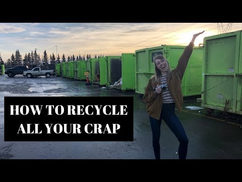 What To Expect At A Household Recycling Centre | City Of Edmonton Eco Station 2018