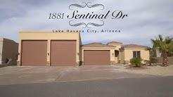 1881 Sentinel Dr. Lake Havasu City RV garage home for sale