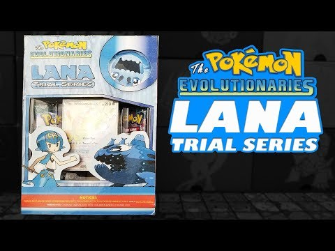 Pokemon Cards -  Lana Trial Series Pin Collection Box!