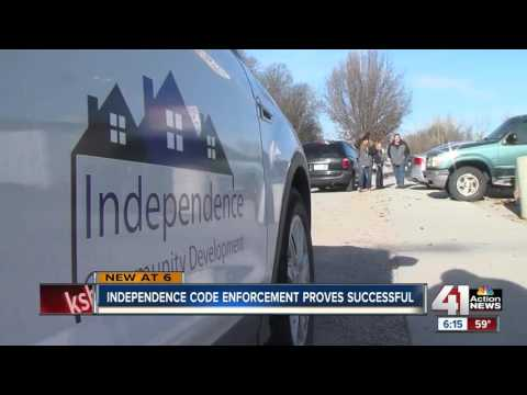 Independence to expand corridor code enforcement program