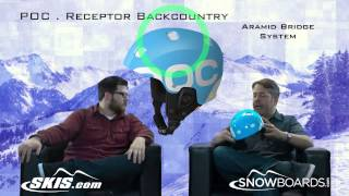 2014 POC Receptor Backcountry Helmet Overview by SKIS.COM