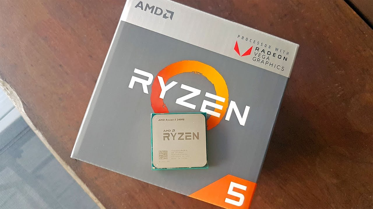 Unboxing The Amd Ryzen 5 2400g With Radeon Rx Vega 11 Graphics Youtube