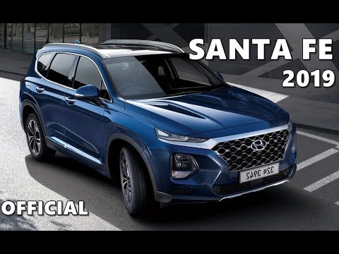 2019 Hyundai Santa Fe //First Look// Exterior & Interior