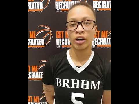 ZauNasha Vaughan (Team BRHHM 16U/Heritage HS/Lynchburg, VA) 2019 5'6 PG