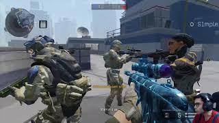 2 clutches, 18 kills on Destination Vs *No*Skill*  - warface ranked gameplay