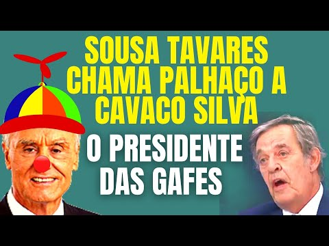 """Cavaco Silva, rei das gafes? Não """"façarei""""?"""