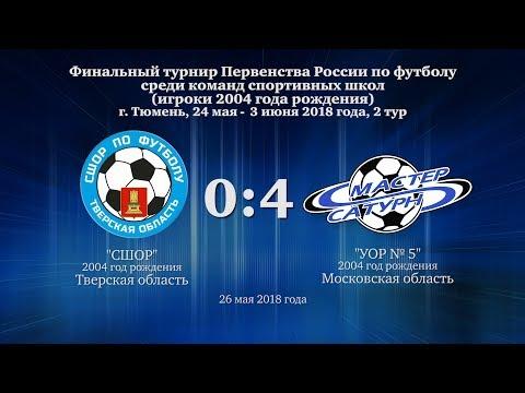 Голы матча команды 2004 г.р. 26 мая 2018 год.