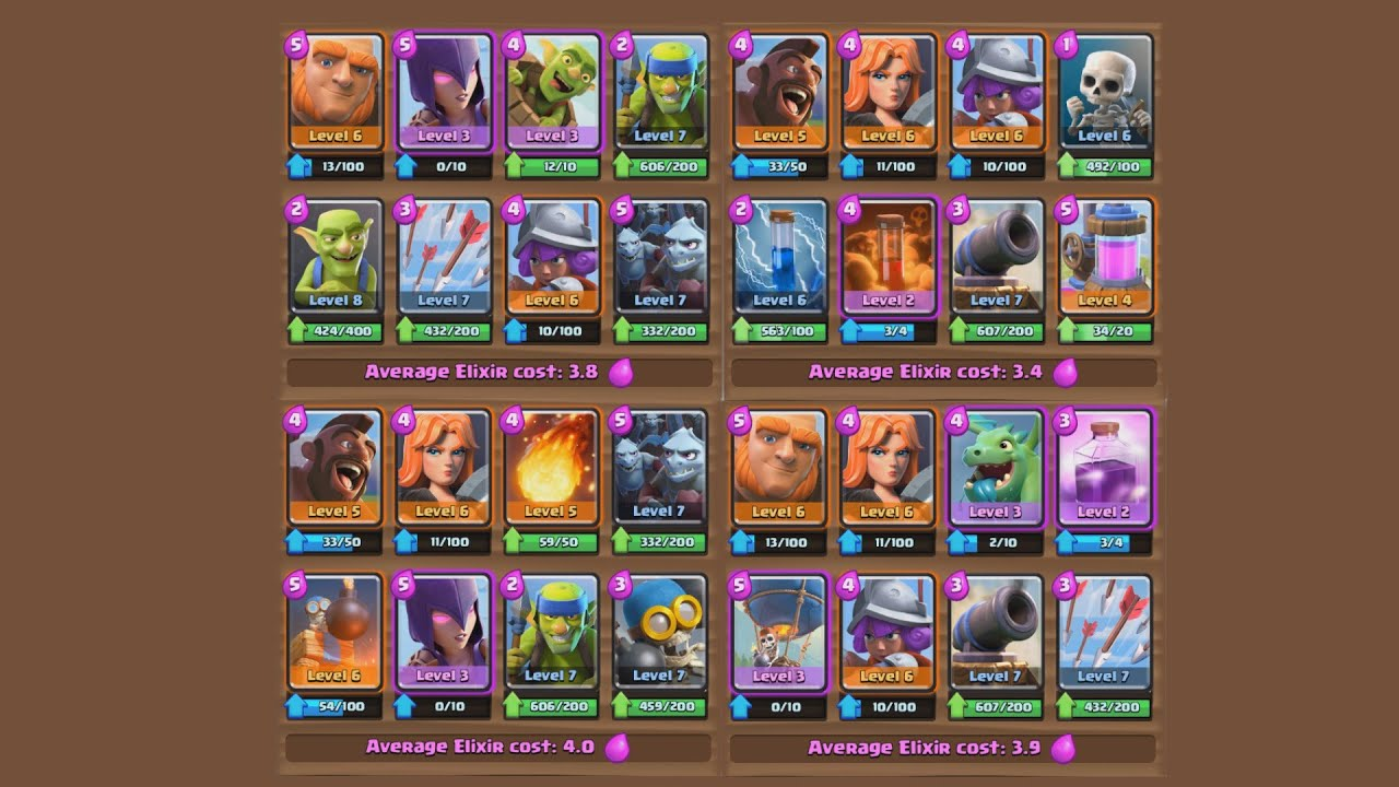 Hunting for the best tournament deck clash royale youtube for Clash royale deck arc x