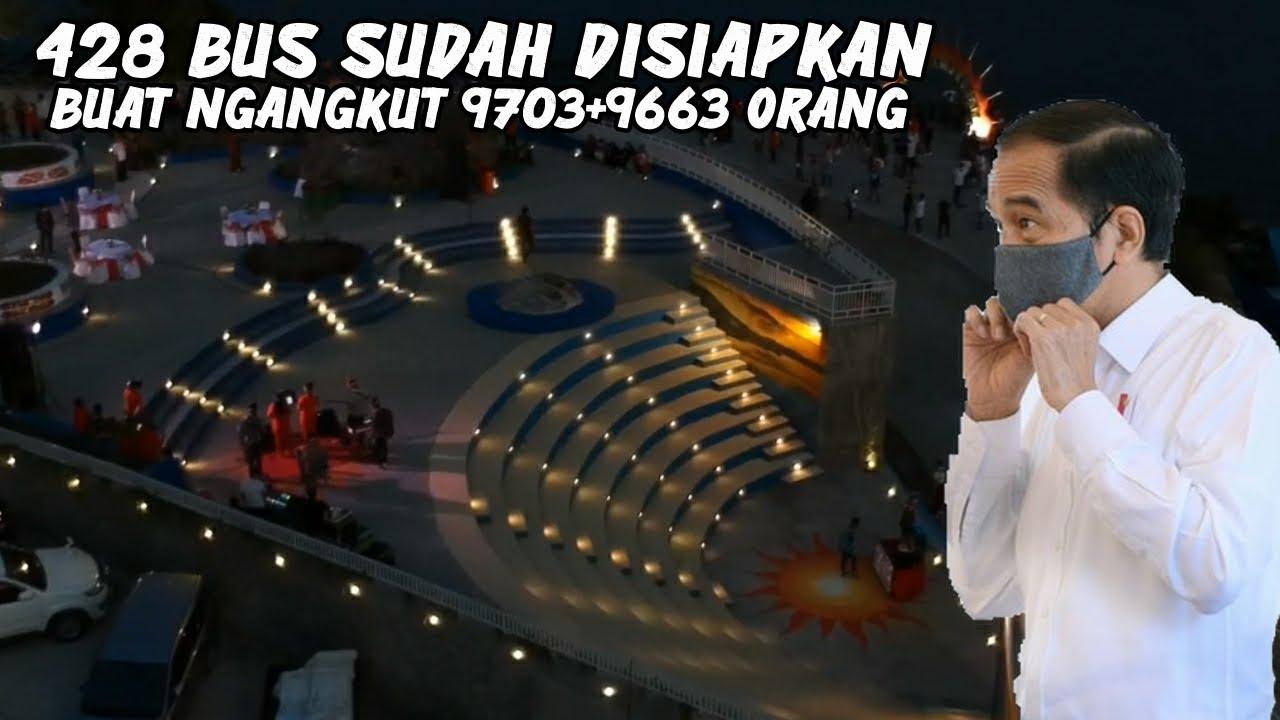 PAPUA HEBAT, Dari berbagai penjuru Indonesia bakal datang nungguin momen ini