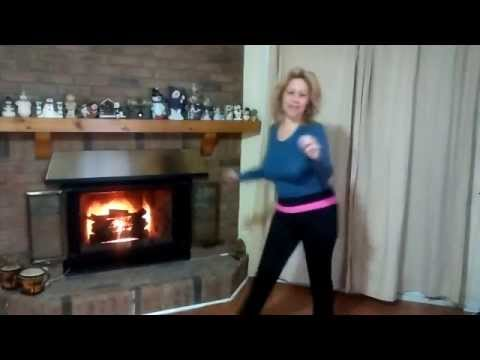 Zumba Exercise for Lazy Fatties with Nina