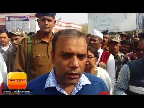 मुजफ्फरपुर: डीएम ने सदर अस्पताल का लिया जायजा, अधीक्षक व उपाधीक्षक पर गिरेगी गाज