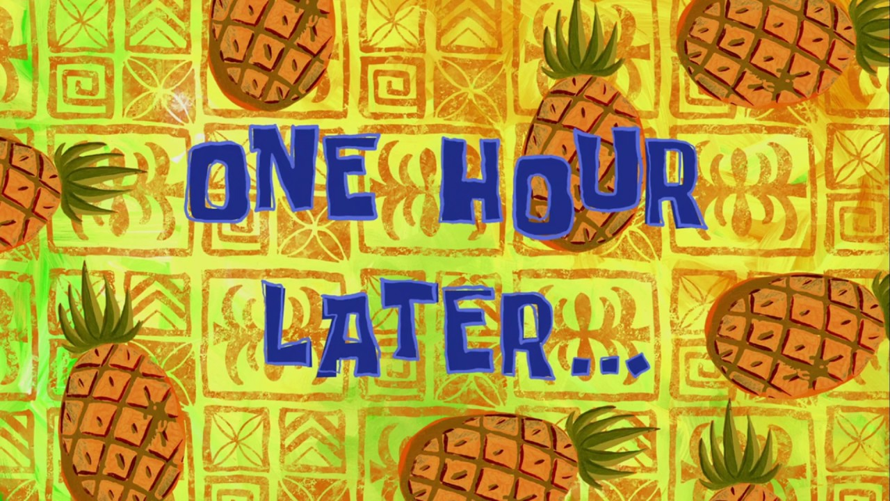 One hour later spongebob time card 122 youtube one hour later spongebob time card 122 ccuart Gallery