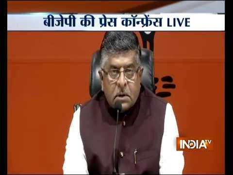 Rafale row: BJP hits back at Rahul Gandhi, says his statement on PM 'shameful, irresponsible'