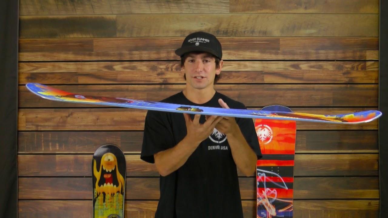 4692f0048566 Never Summer Bantam Snowboard - Kids  2018 Review - YouTube