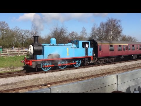 HD A Day Out with Thomas, Buckinghamshire Railway Centre, Quainton, Aylesbury, 6th April 2015